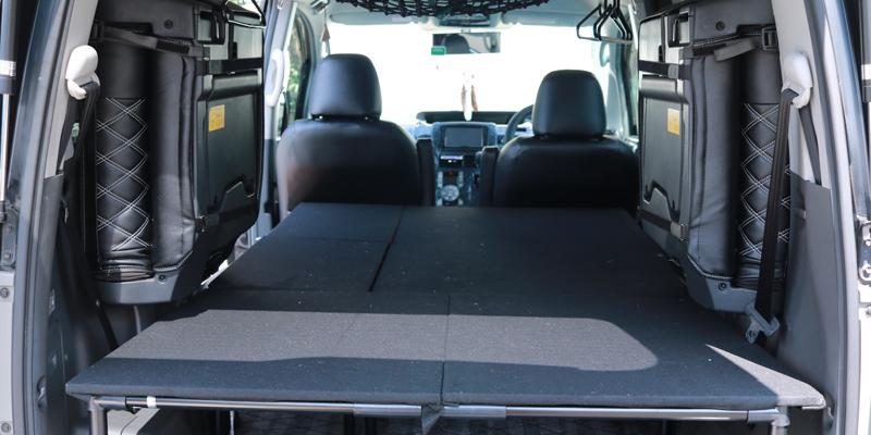 【DIY】車(NOAH70系)にベッドキットを自作してみた_01