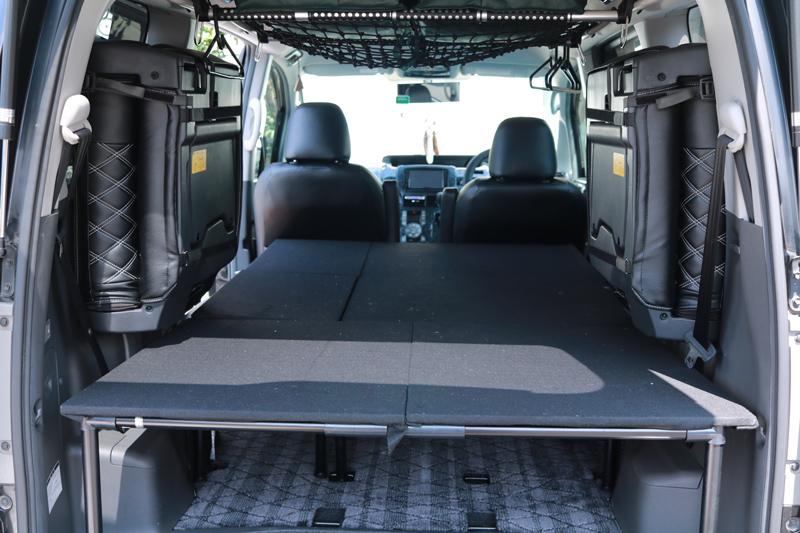 【DIY】車(NOAH70系)にベッドキットを自作してみた_14