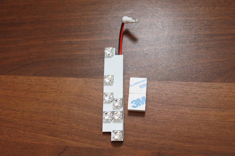 【DIY】車(NOAH70系)エアコンパネルLED打ち替え_15